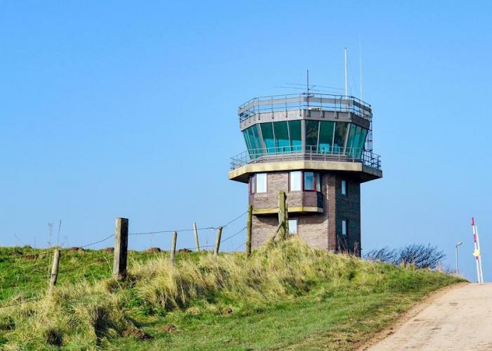RAF Control Tower with Amazing Views